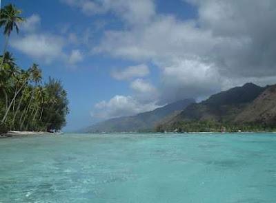 Moorea - Polynésie: Fond d'écran - Lagon de Moorea