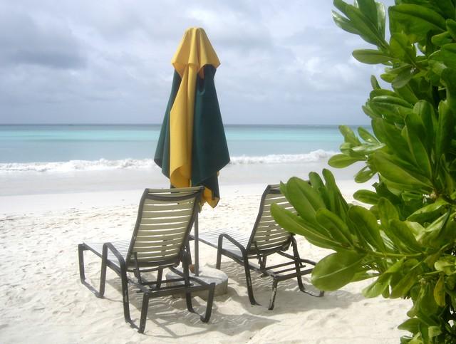 Plage de Cote d'Or Praslin Seychelles