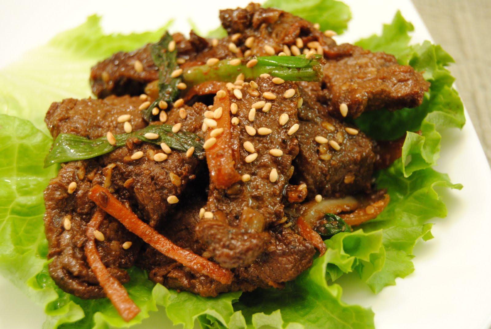 Malikala's Ono Kine Grinds: Korean Bulgogi Beef