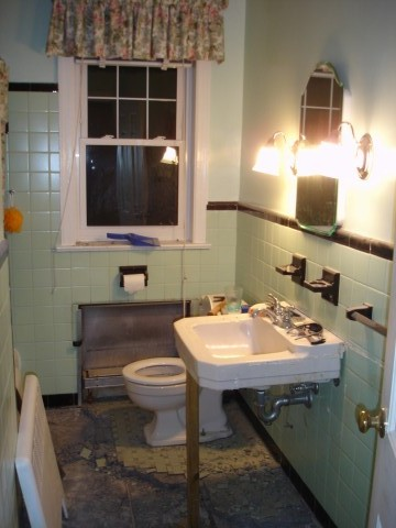 1949 Bathroom Renovation  Sand and Sisal