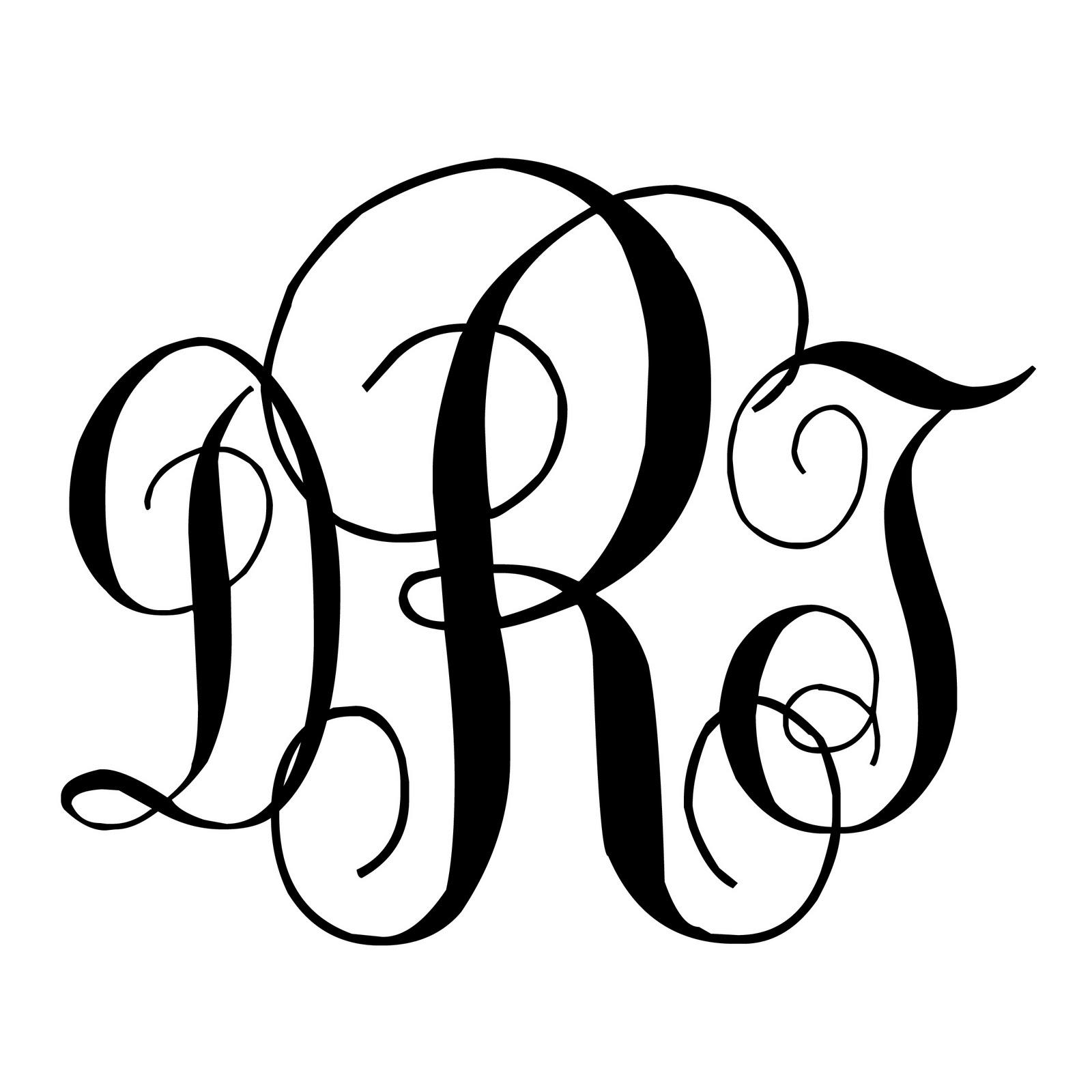 N And S Monogram