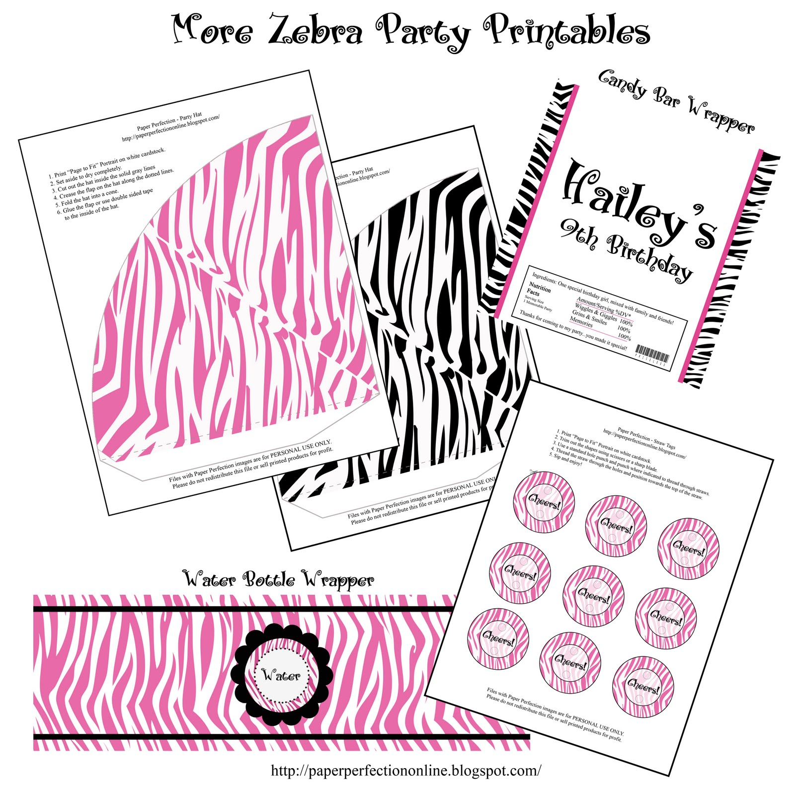 Zebra Printables