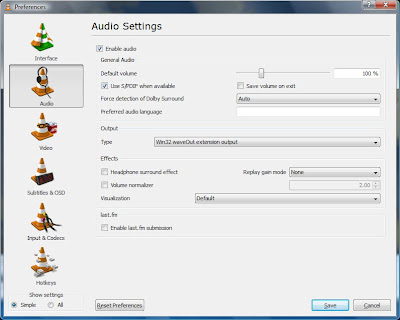 How to Setup Dolby Digital 5 1 Sound in VLC