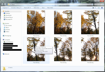 View RAW & DNG thumbnails in Windows 7