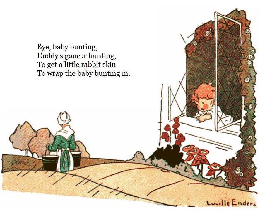 Marie's Home and Hobbies: Bye, Baby Bunting........