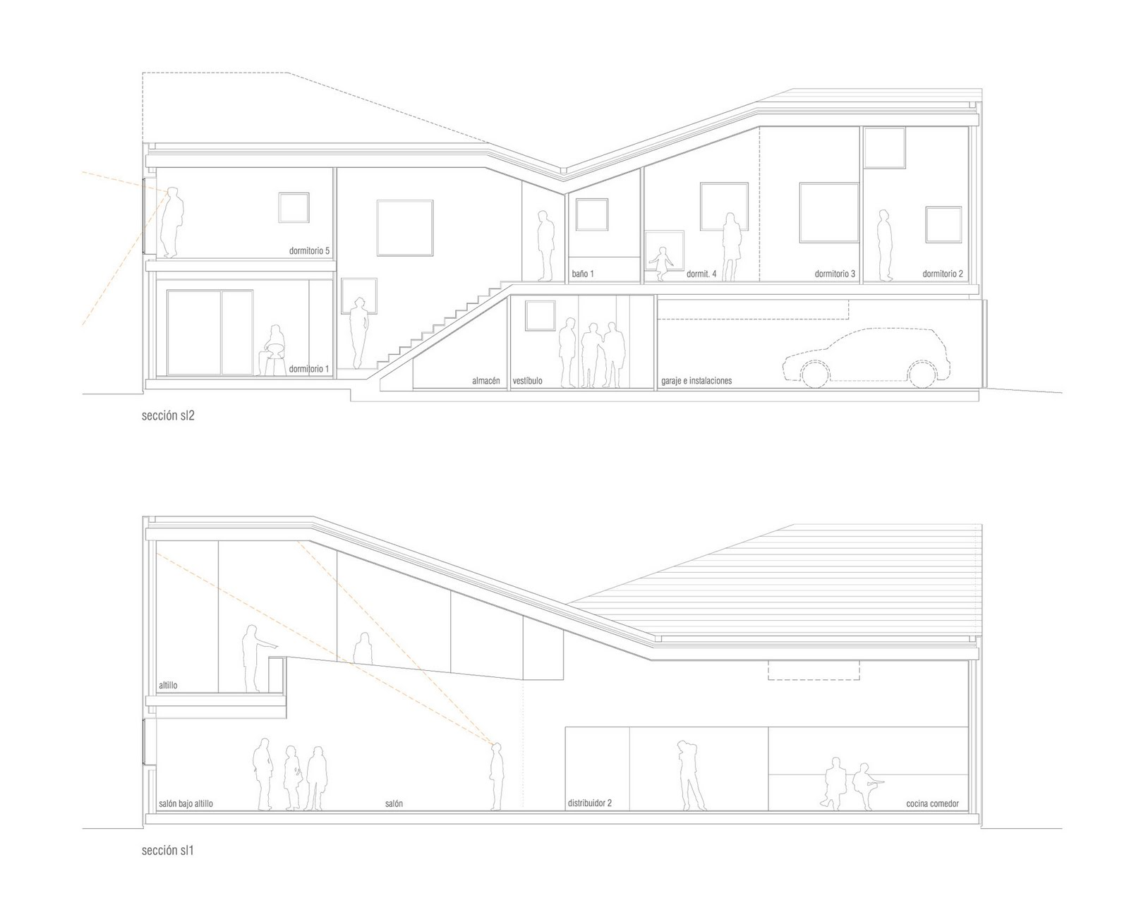 I V A N B A R K O S Casa La Candela Zigzag Arquitectura
