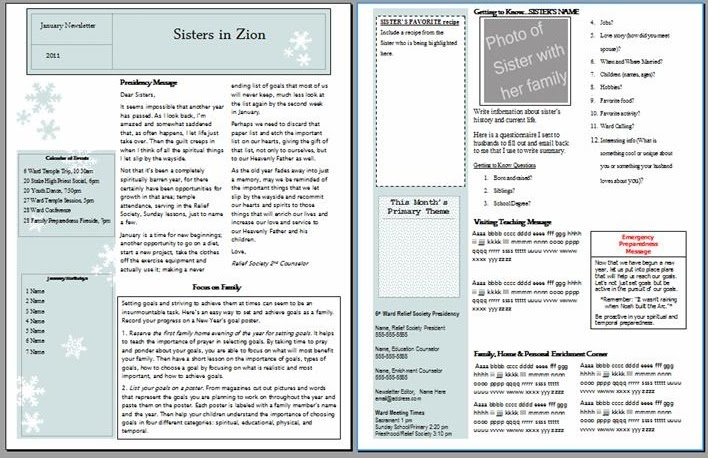 January+Newsletter Lds Relief Society Newsletter Template on women's newsletter template, lds agenda template, clip art newsletter template, relief society conducting template, lds primary conducting sheet, e-newsletter template, lds bulletin templates, lds reading schedule, lds sacrament prayer text, black and white newsletter template, relief society agenda template, creating a newsletter template, monthly parent newsletter template, newsletter format template, lds church program template, lds sacrament meeting program covers, june newsletter template, lds calendar template, lds church bulletin,