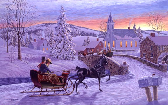The Art of Richard De Wolfe: An Old Fashioned Christmas