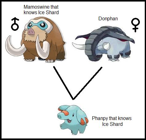 Pokemon Phanpy Evolution Chart