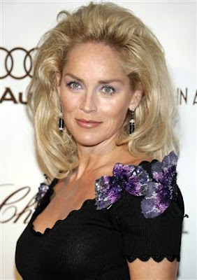 sharon stone hair