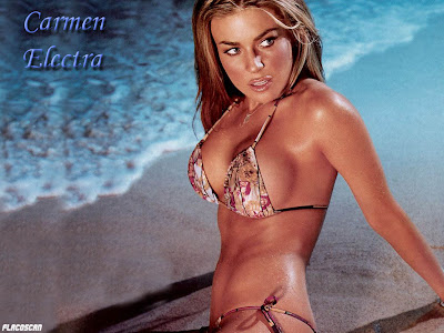 carmen electra undressed