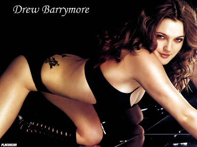 drew barrymore topless