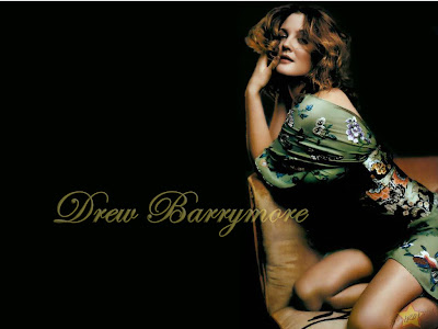 drew barrymore tattoos