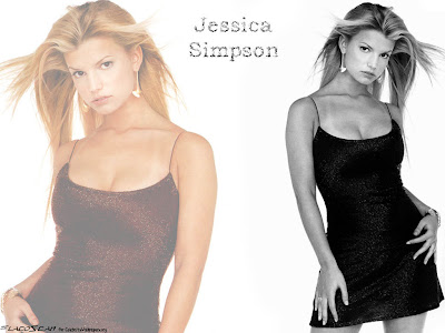 jessica simpson cleavage