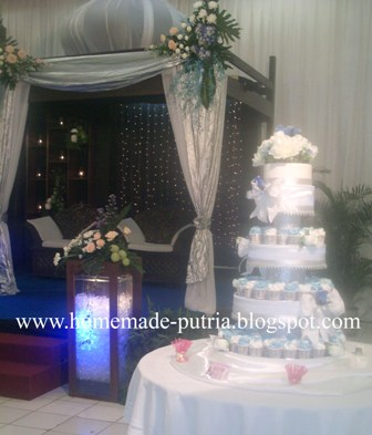 order winter theme wedding cupcakes from mba dewi rianie. Black Bedroom Furniture Sets. Home Design Ideas