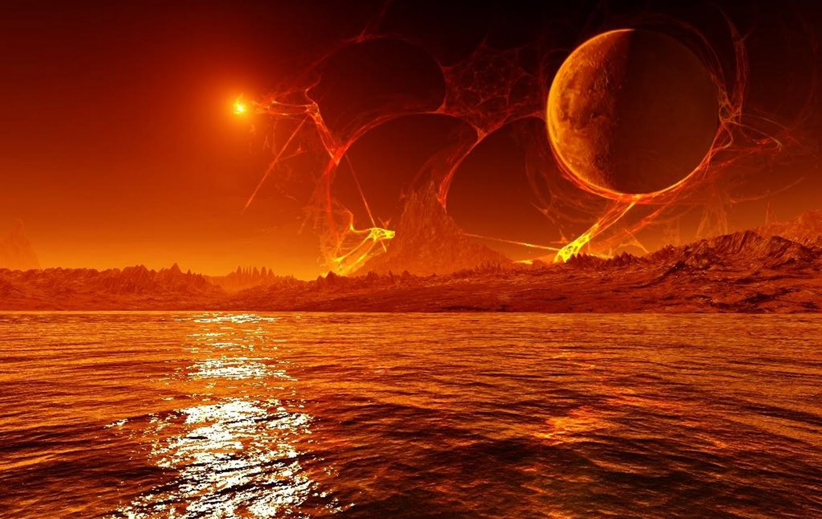 FMP Project Research Planets and space art