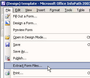 infopath file extension
