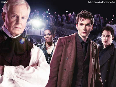 The TARDIS Trio and the Professor