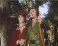 Patrick Knowles and Errol Flynn