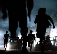 Zombies from 28 Days Later