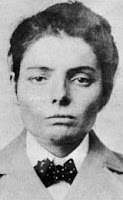 Laura Bullion's mugshot, 1901