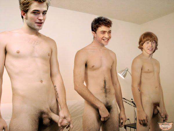 Daniel radcliffe rupert grint nude