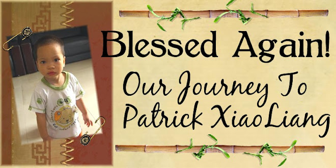 Blessed Again - Our Journey to Patrick XiaoLiang