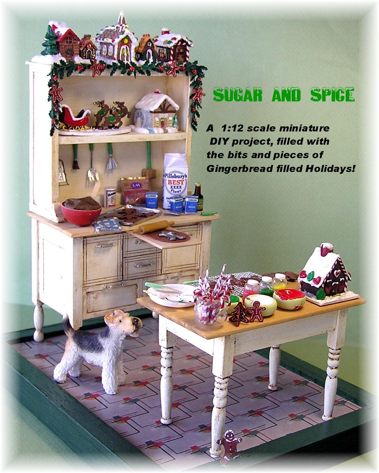 Dyi Dollhouse Miniatures Sugar N Spice Part One