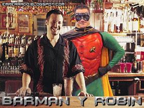 barman y robin, batman y robin