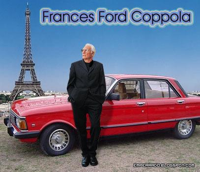 frances ford coppola, ford falcon, torre eiffel, guillermo coppola