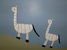 It took two to make these zebras...