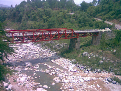 Beautiful Bridge, Chamunda Road, Himachal