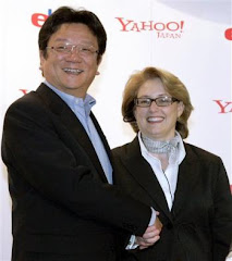 Japan President with CEO yahoo