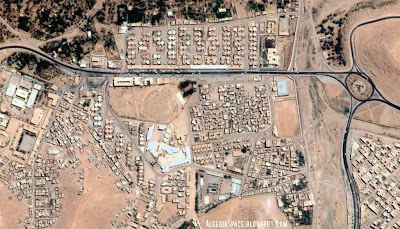 Photos satellite Ghardaïa Algerie