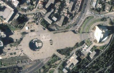 Photo satellite Makam Chahid Alger Algerie