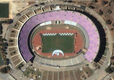 Photo satellite Stade 5 Juillet Alger Algerie