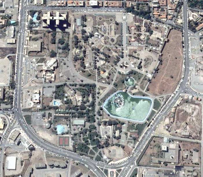 photo satellite Setif Algerie