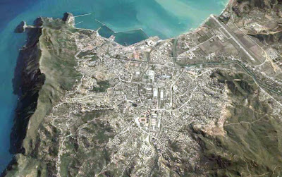 image satellite bejaia