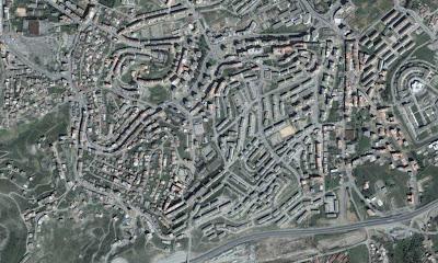 Photo satellite Tizi-ouzou Algerie