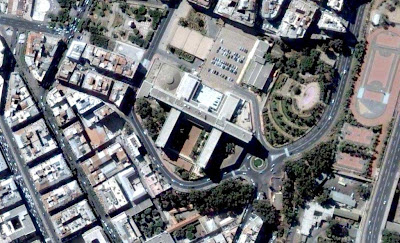 Photo satellite Palais Gouvernement Alger Algerie