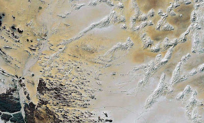 Photo Satellite Sahara Algerie