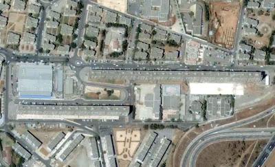 photo satellite Habitations Alger Algerie