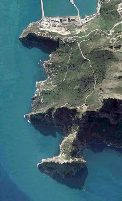 photo satellite bejaia cap carbon Bouak Algerie