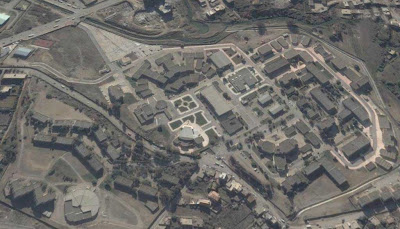 photo satellite bejaia-universite Algerie