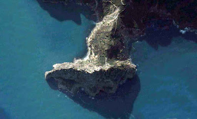 photo satellite cap carbon-bejaia Algerie