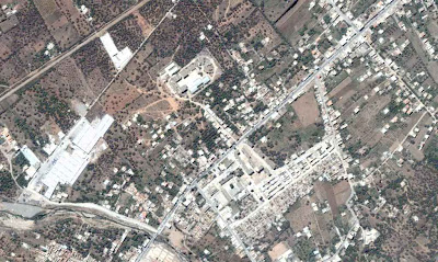 Photo satellite Ighzer-Amokrane Bejaia Algerie