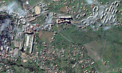 Photo satellite Azzazga Tizi-ouzou Algerie