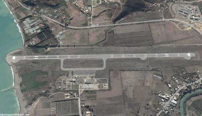 photo satellite bejaia aeroport Algerie