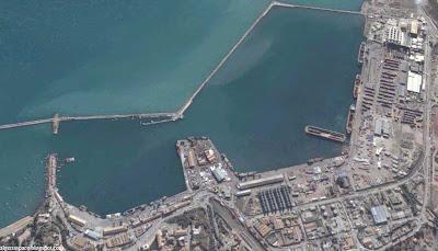 photo satellite bejaia port passagers Algerie