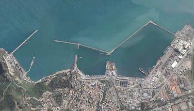 photo satellite bejaia port Algerie